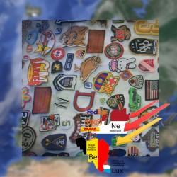 Spoed maatwerk service, emblemen badges