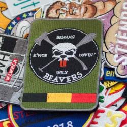 Airsoft emblemen badges, voor de echte spelers
