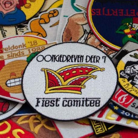 Emblemen Badges voor Carnaval