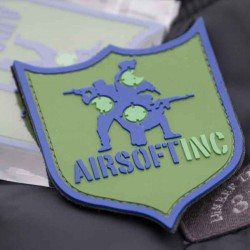 Custom-made Airsoft PVC badges