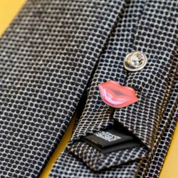 Metaal bedrukte pins met epoxy
