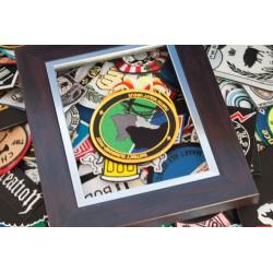 Badges, patches of emblemen voor politie, geborduurd, maatwerk
