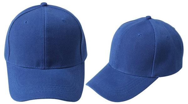 Loyal blue, 6 panel baseball caps