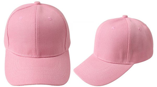 Rose, 6 panel baseball caps