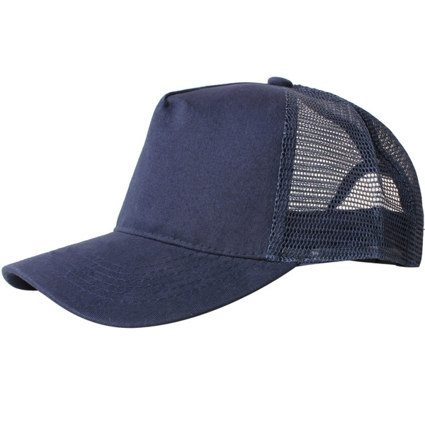 Truck caps, 5 panels, Navy
