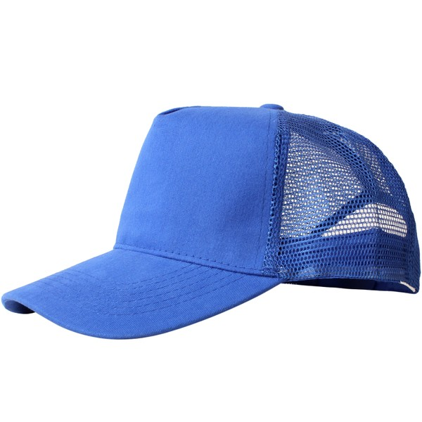 Truck caps, 5 panels, loyaal blauw