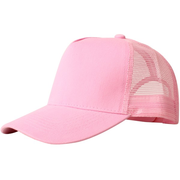 Truck caps, 5 panels, rose