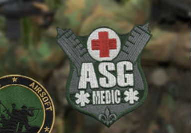 "Airsoft badges, perfect afwerking voor de ""real game""."